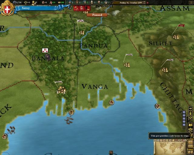 欧陆风云3 神风 硬盘版游戏截图2高清图片